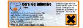 Coral Adhesive Gel 20g