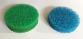 circular reactor sponges